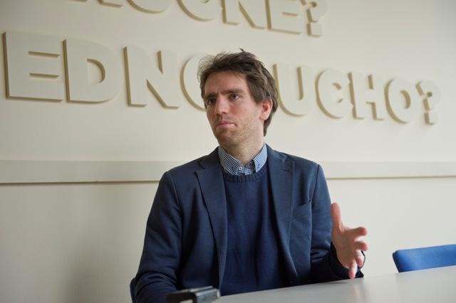 Na snímke zástupca riaditeľa Inštitútu ázijských štúdií Richard Turcsányi