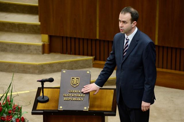 Na snímke Ján Podmanický (SMER-SD)
