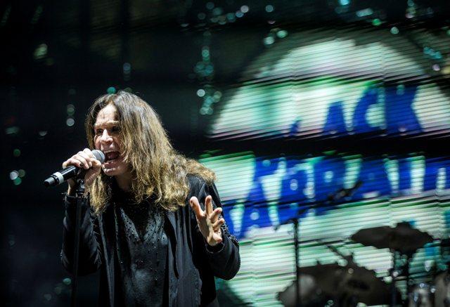 Na snímke spevák Ozzy Osbourne