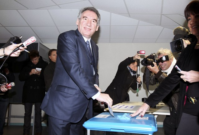 Na snímke Francois Bayrou