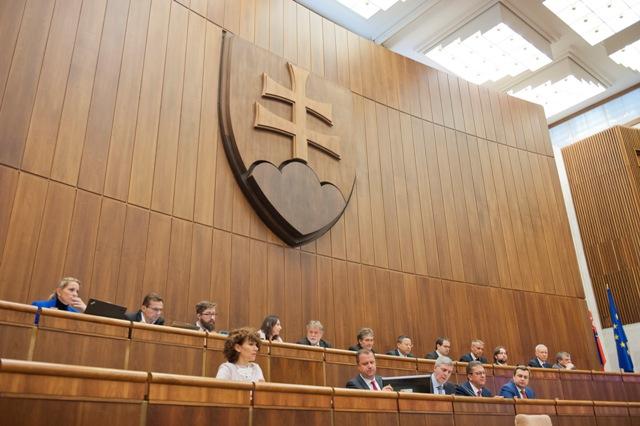 Ilustračné foto: Na snímke rokovacia sála
