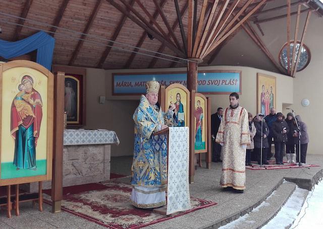Mariánski pútnici na februárovej fatimskej sobote a malej púti na hore Zvir