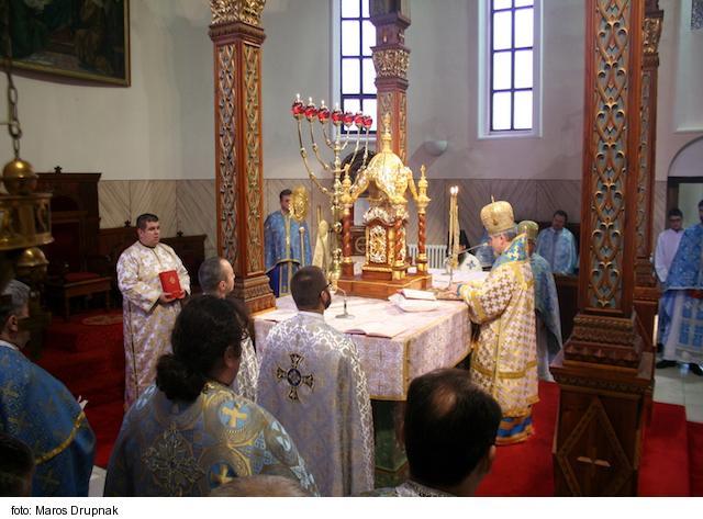 Zasvätené osoby v Košickej eparchii s vladykom Milanom Chauturom