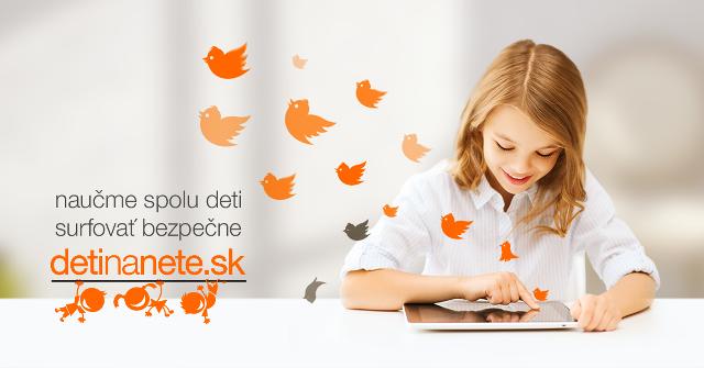 Oslávte s deťmi Deň pre bezpečnejší internet. Choďte na www.detinanete.sk a zabavte sa