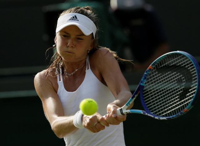 Na snímke slovenská tenistka Daniela Hantuchová