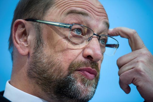 Na snímke Martin Schulz