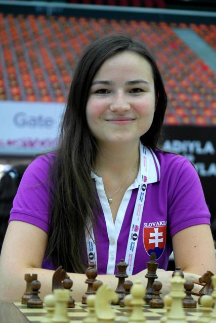 Na snímke Monika Motyčáková