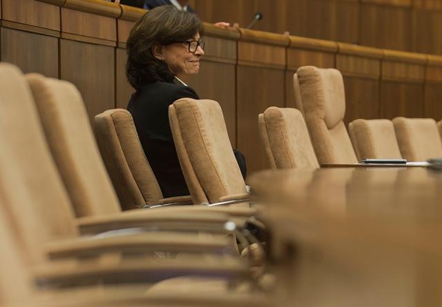 Na snímke ministerka spravodlivosti SR Lucia Žitňanská