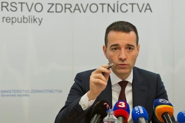 Na snímke minister zdravotníctva Tomáš Drucker