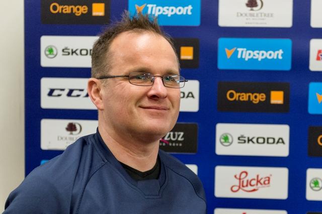 Na snímke tréner slovenského Olympijského tímu Marcel Ozimák