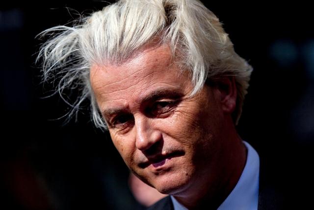 Na snímke Geert Wilders