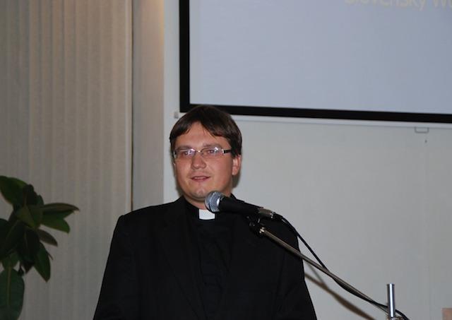 Na snímke Ľuboslav Hromják