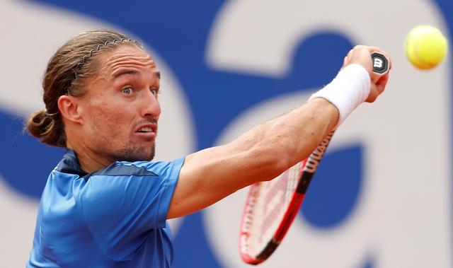 Na snímke ukrajinský tenista Alexandr Dolgopolov