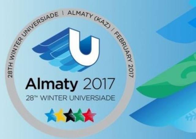 Logo – oficiálne XXVIII. SZU Almaty 2017