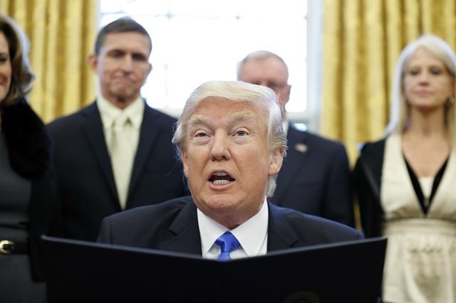 Na snímke americký prezident Donald Trump