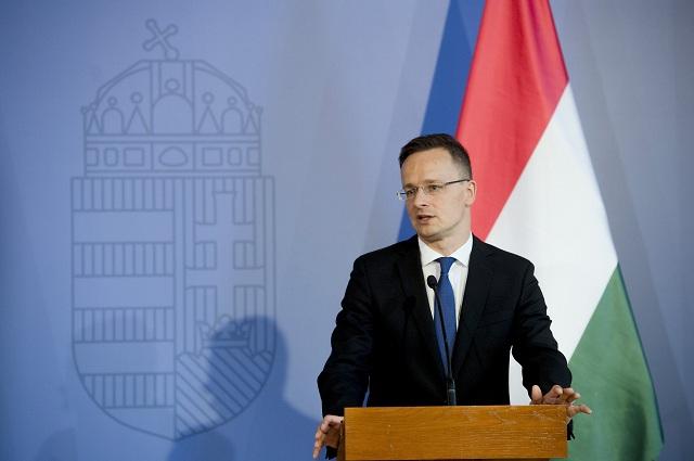 Maďarský minister zahraničných vecí a vonkajších ekonomických vzťahov Péter Szijjártó