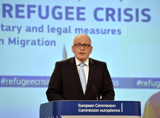 Prvý podpredseda Európskej komisie Frans Timmermans