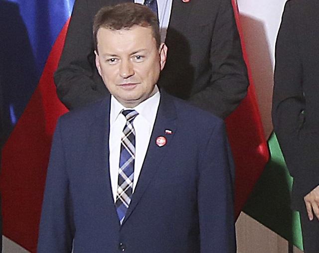 Poľský minister vnútra Mariusz Blaszczak