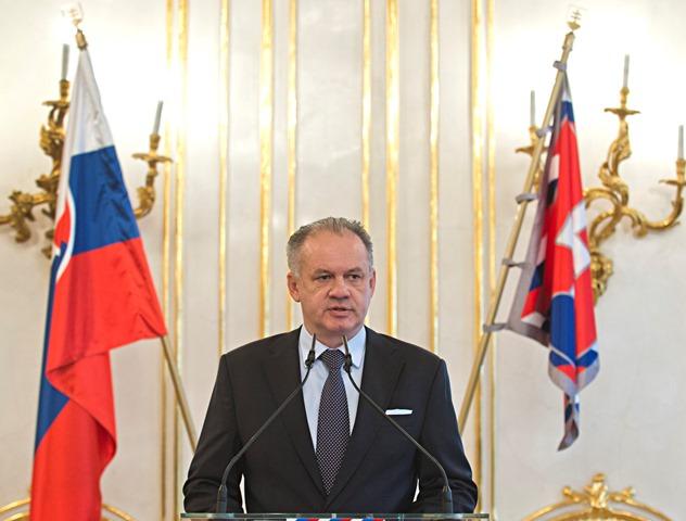 Na snímke prezident Andrej Kiska
