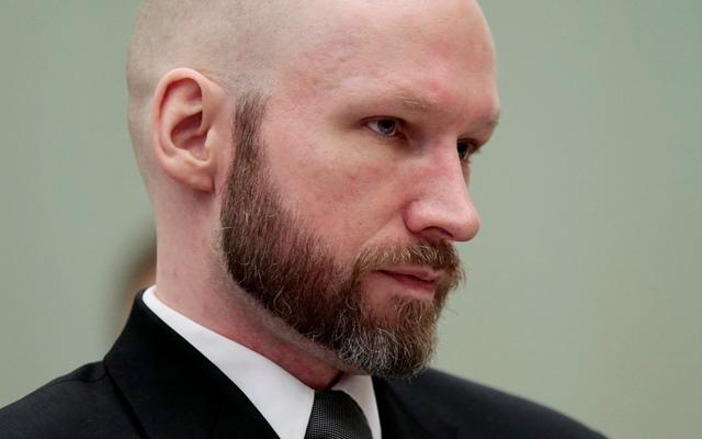 Na snímke nórsky pravicový extrémista a masový vrah Anders Breivik