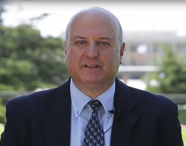 Na snímke veľvyslanec  David Govrin
