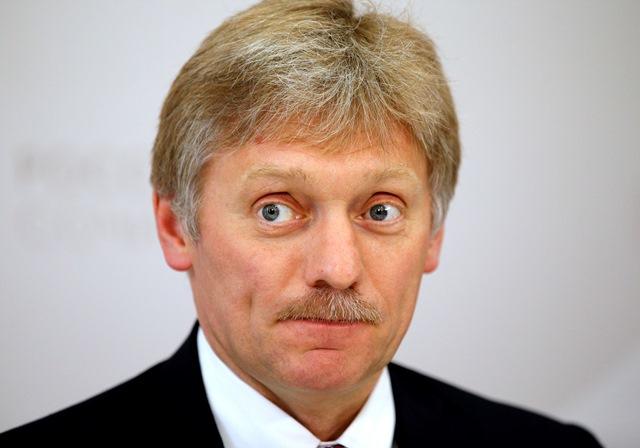 Na snímke hovorca Kremľa Dmitrij Peskov