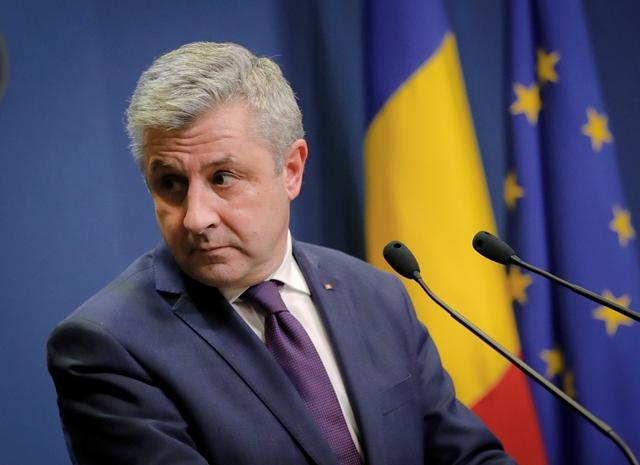 Na snímke  rumunský minister spravodlivosti Florin Iordache
