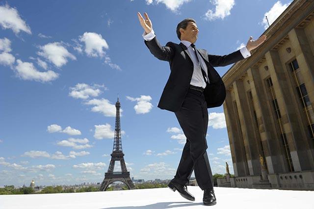 Na snímke bývalý francúzsky prezident Nicolas Sarkozy.