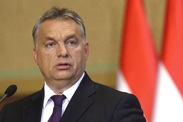 Na archívnej snímke je maďarský premiér Viktor Orbán.