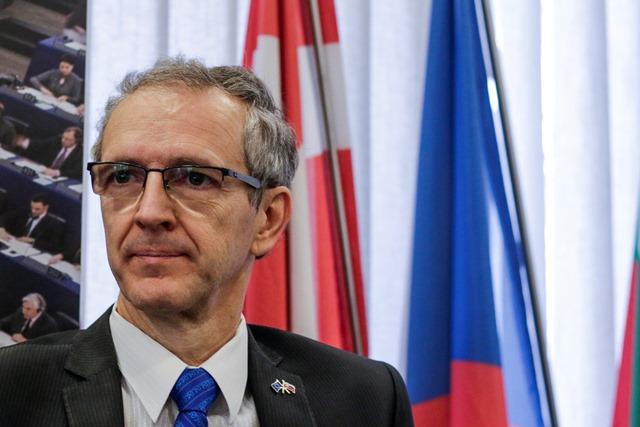 Na snímke europoslanec Ivan Štefanec
