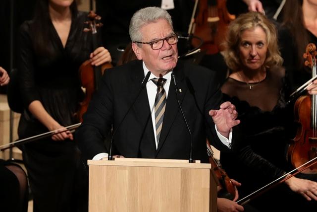 Na snímke Joachim Gauck