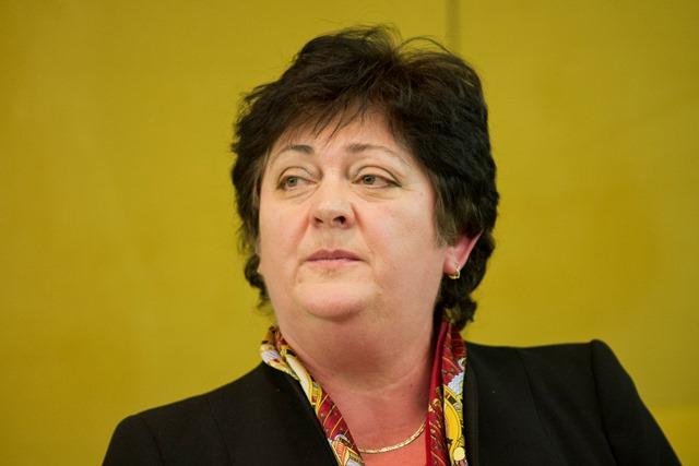 Na snímke kandidátka Mária Patakyová