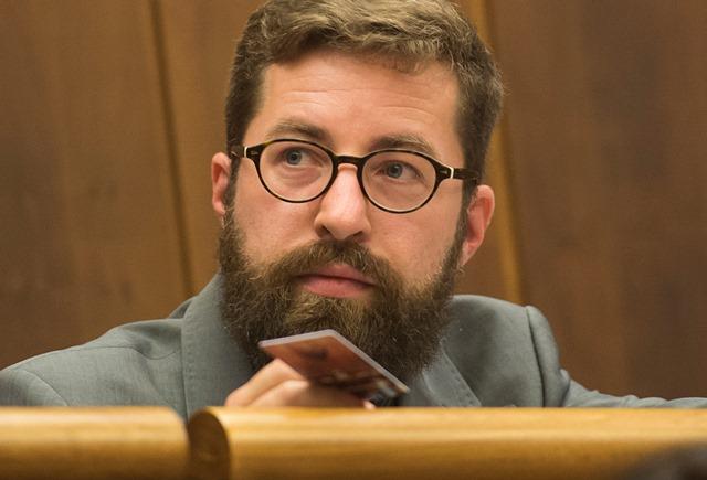 Na snímke poslanec Martin Poliačik (SaS)