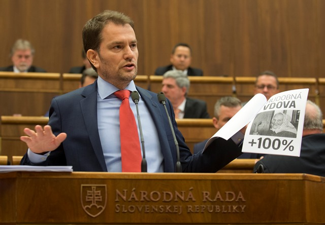 Na snímke poslanec NR SR Igor Matovič (Oľano-Nova)