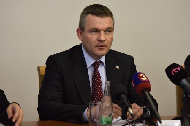 Na snímke podpredseda vlády SR Peter Pellegrini