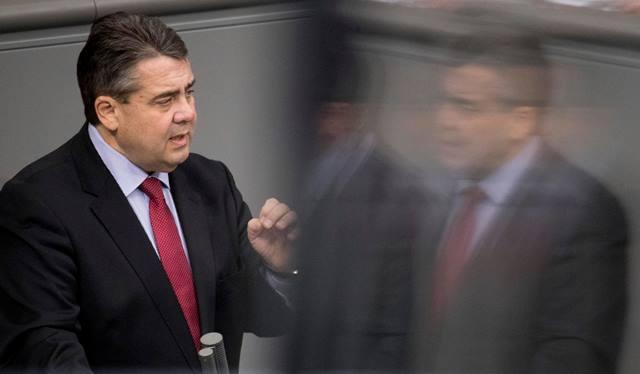Na snímke nemecký minister zahraničných vecí Sigmar Gabriel