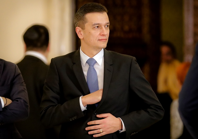 Na snímke nový rumunský premiér Sorin Grindeanu