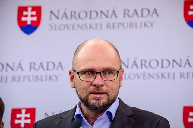 Na snímke predseda SaS Richard Sulík
