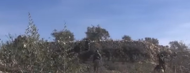 Na snímke útok sýrskej armády