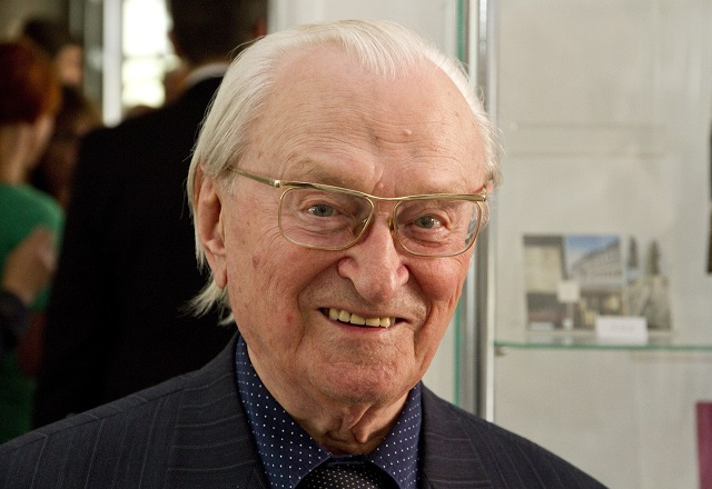 Na snímke historik profesor Milan Ďurica