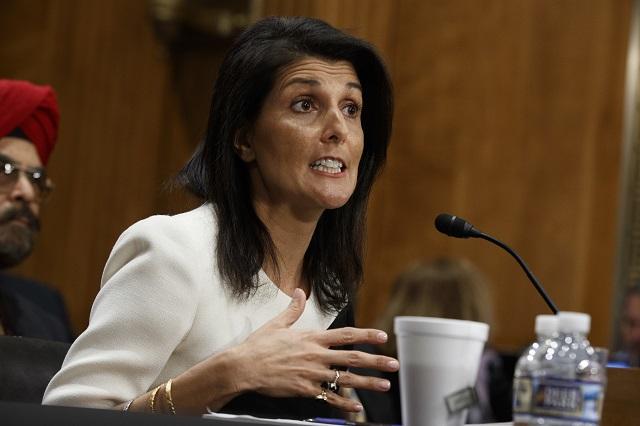 Novozvolená vyslankyňa USA pri Organizácii Spojených národov Nikki Haleyová