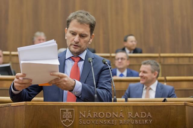 Na snímke Igor Matovič (OĽaNO)