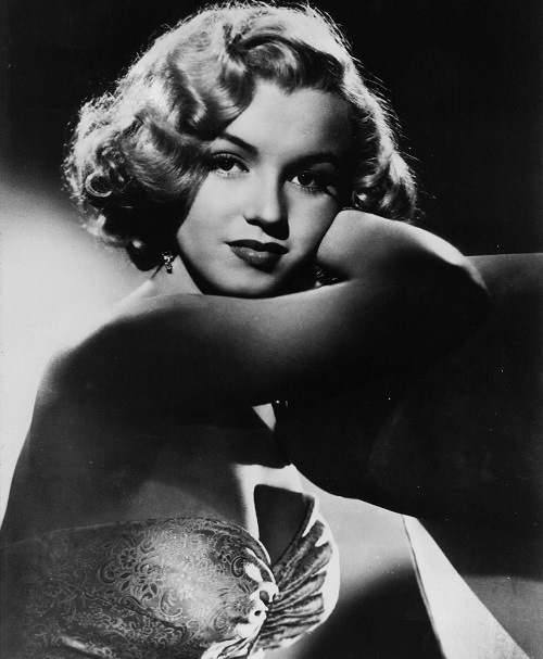Na nedatovanej snímke herečka Marilyn Monroe