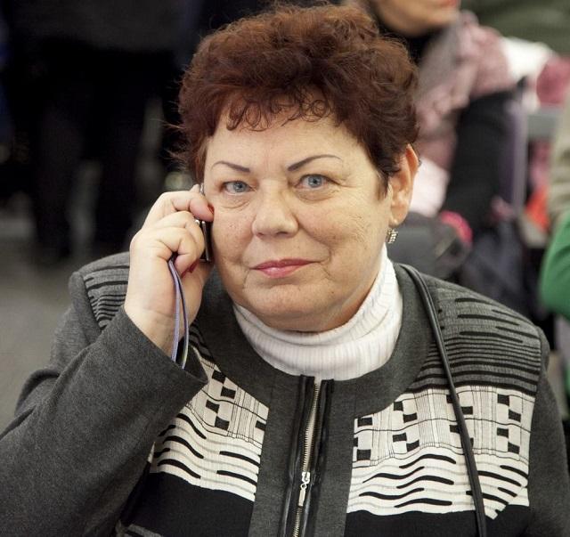 Na snímke Janka Šípošová