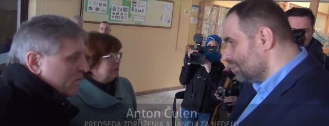 Na snímke Pavol Frešo, poslankyňa Kotlebovej strany Natália Grausová a neúspešný kandidát na ombudsmana Anton Čulen
