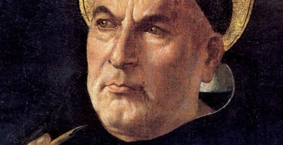 Dobový portrét svätca a veľkého učiteľa Cirkvi sv. Tomáša Akvinského