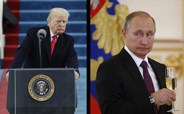 Nový americký prezident Donald Trump prísaha Inaugurácia Donalda Trumpa