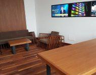 Na snímke kancelária predsedu KDH Alojza Hlinu