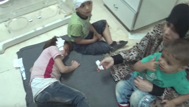 Kde jsou mainstreamová média nyní? Teroristé zaútočili na dětské centrum v městě Deraa