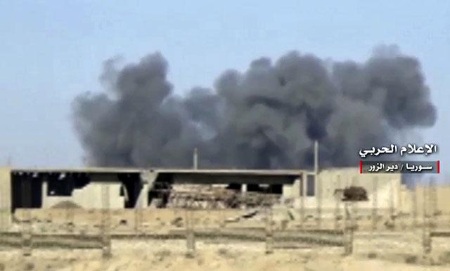 Proběhla blesková operace se získáním plynových polí, která změnila rozložení sil v Sýrii
